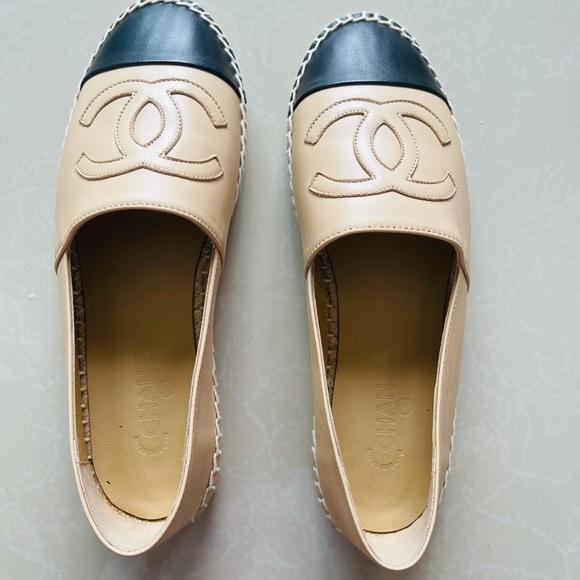 Chanel espadrilles Lambskin